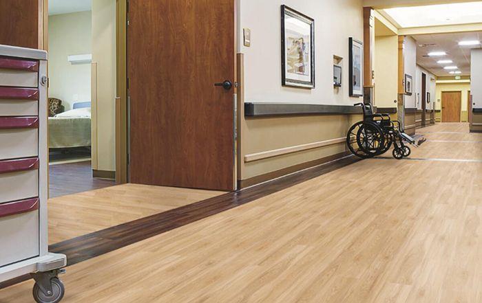 LVT flooring for hospitals
