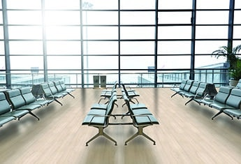 Airport & commercial flooring - Luxury vinyl tile